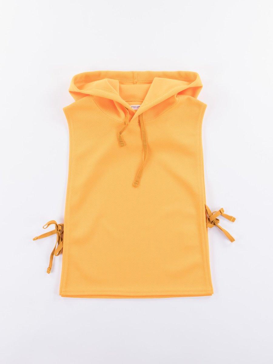 Gold 7.75oz Diamond Knit Hooded Interliner