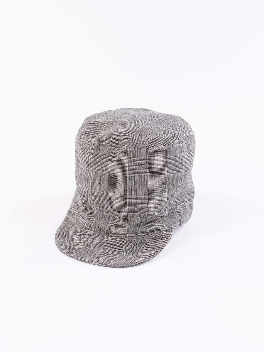 Grey CL Glen Plaid FM Cap