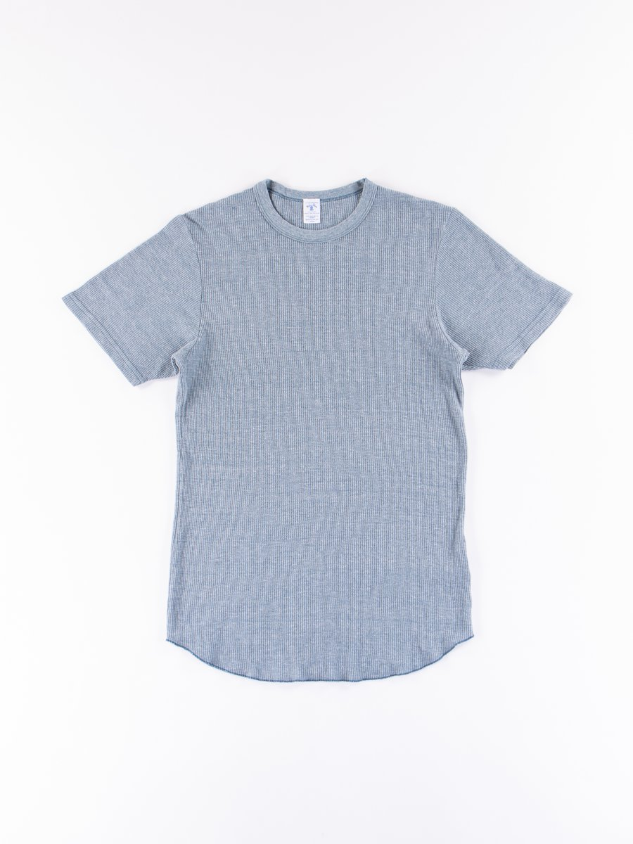 Heather Blue Tri Thermal T–Shirt
