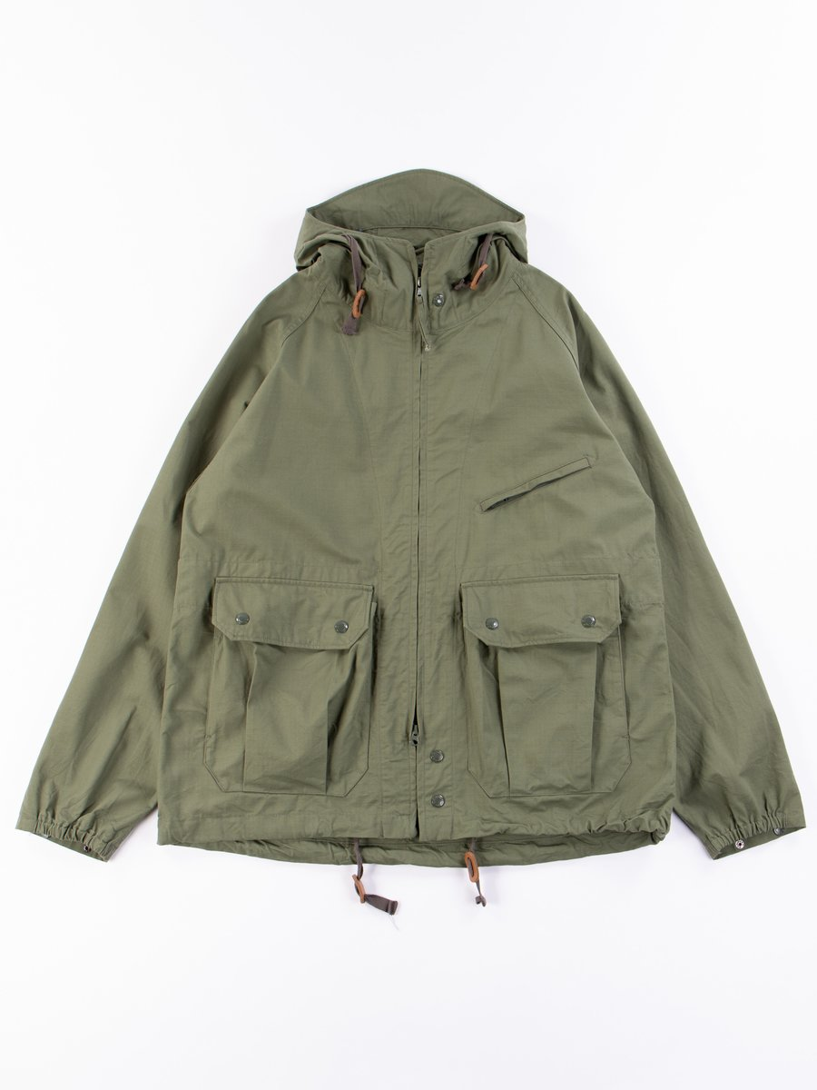 Olive Cotton Ripstop Atlantic Parka