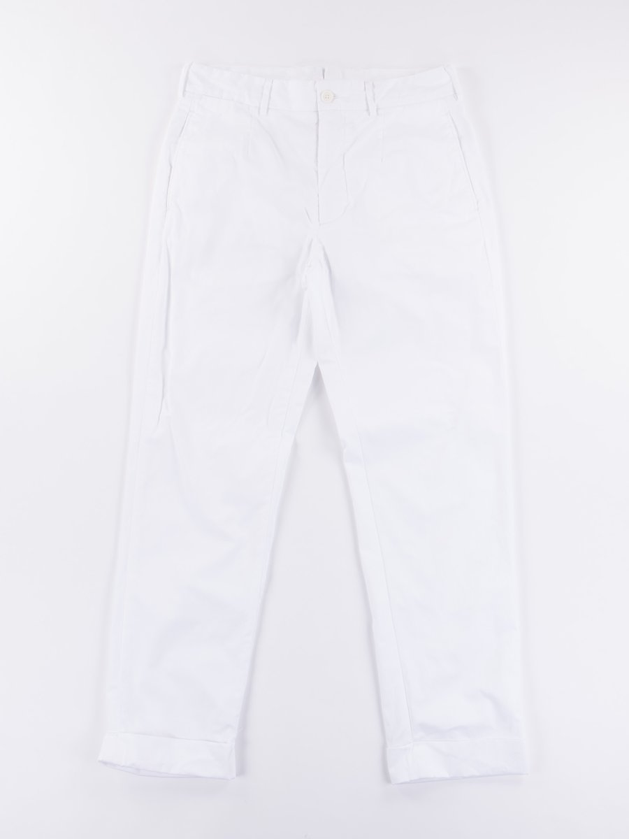 White High Count Twill Andover Pant