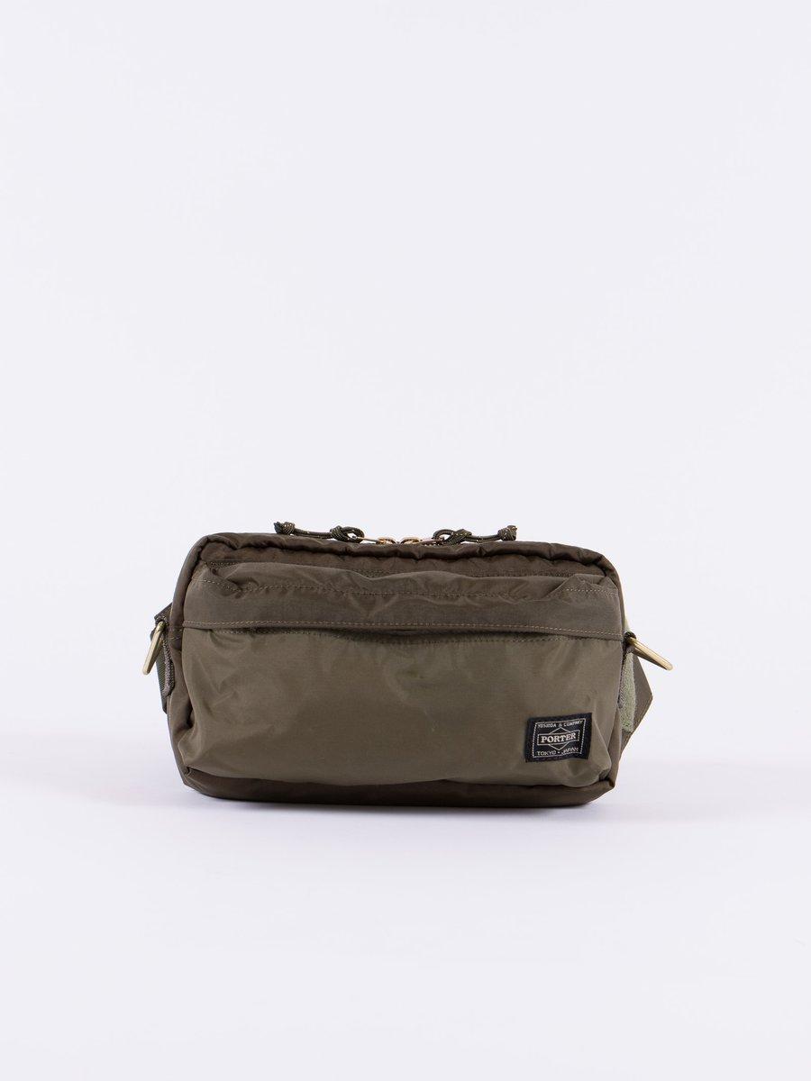 Olive Force 2Way Waist Bag