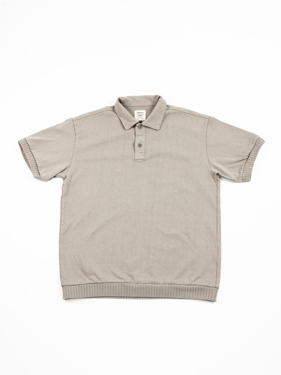 HIGH DENSITY POLO SOLID GRAY