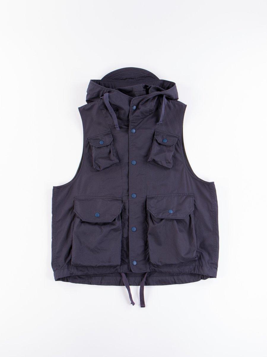 Dark Navy Highcount Twill Field Vest