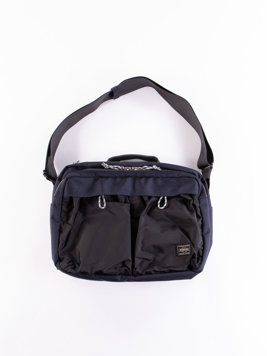 Navy/Black Hype 2Way Shoulder Bag