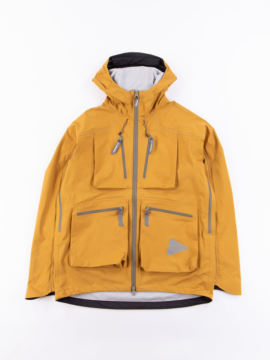 Yellow E Vent Pocket Rain Jacket
