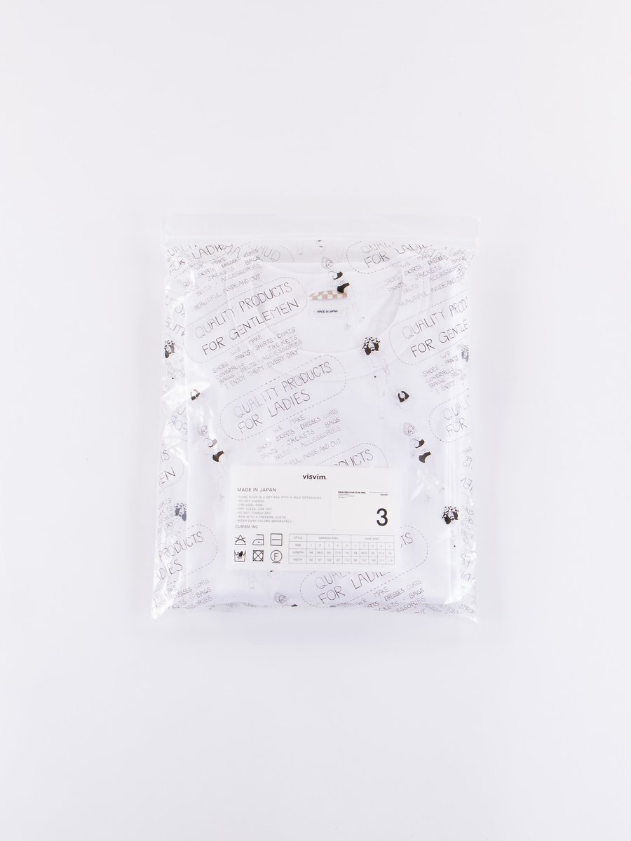 White 3–Pack Sublig Crew Tees Wide