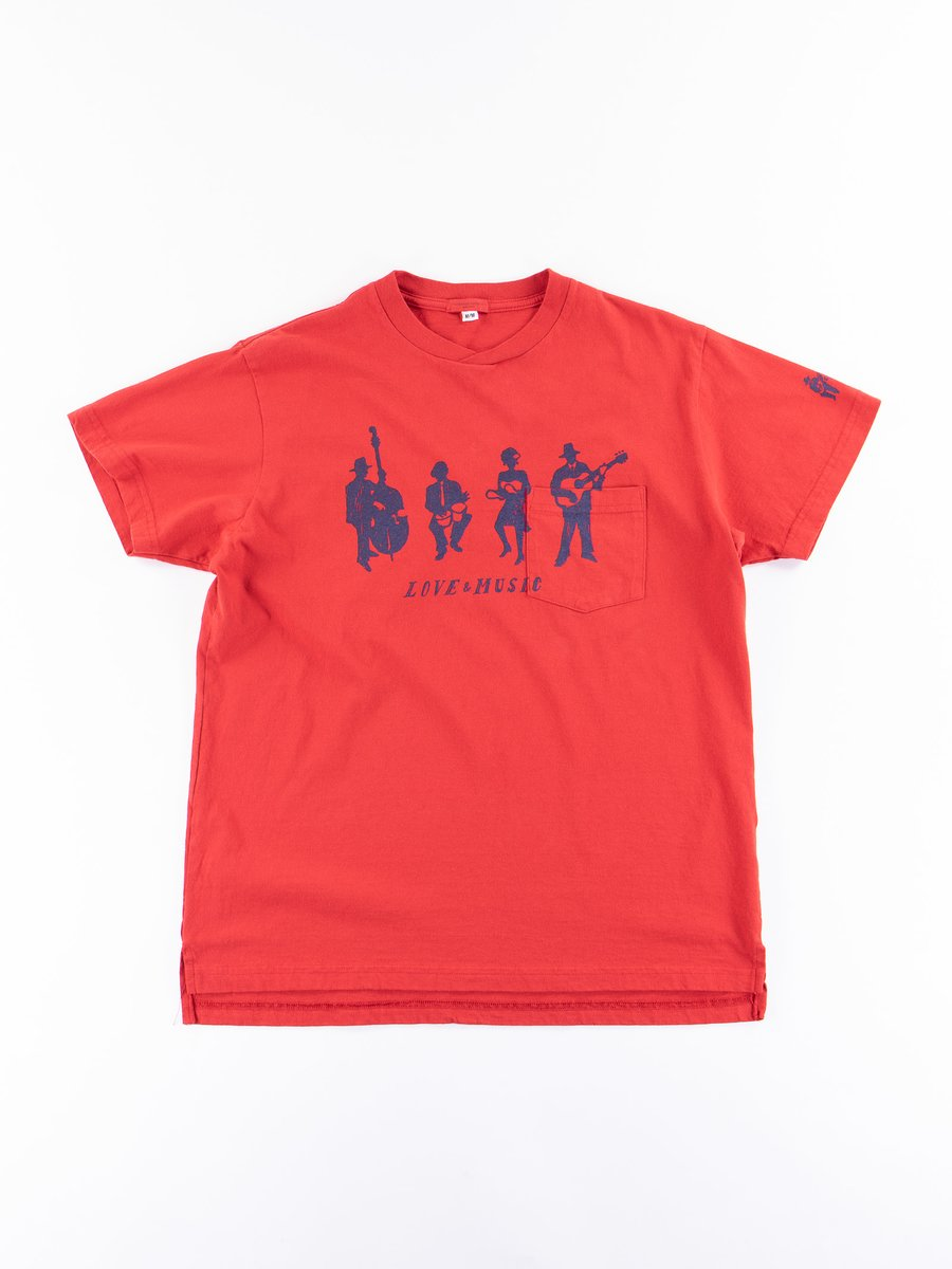 Red Musicians Printed T–Shirt