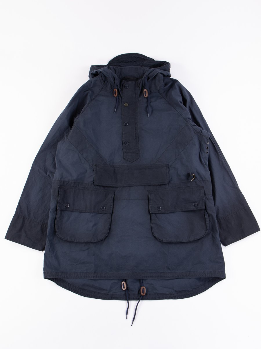 Navy Washed Warby Jacket