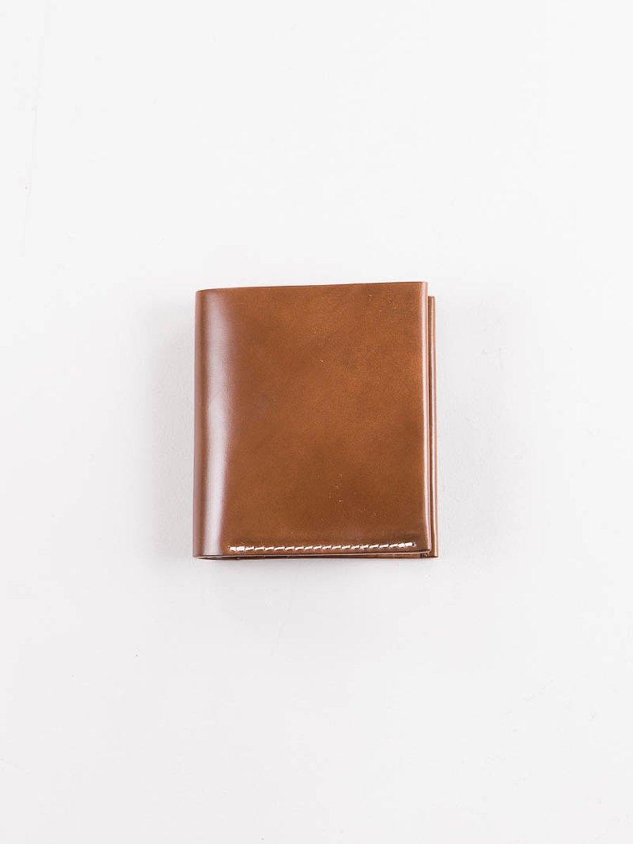 Whiskey Horween Cordovan 3–3 Wallet