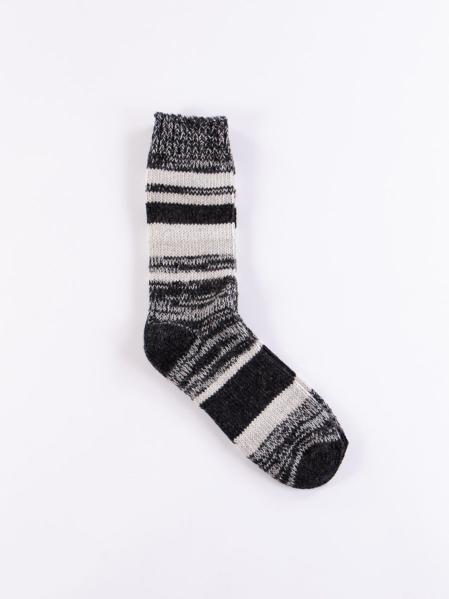 Charcoal/Grey Melange RW01 Good Basics Sock