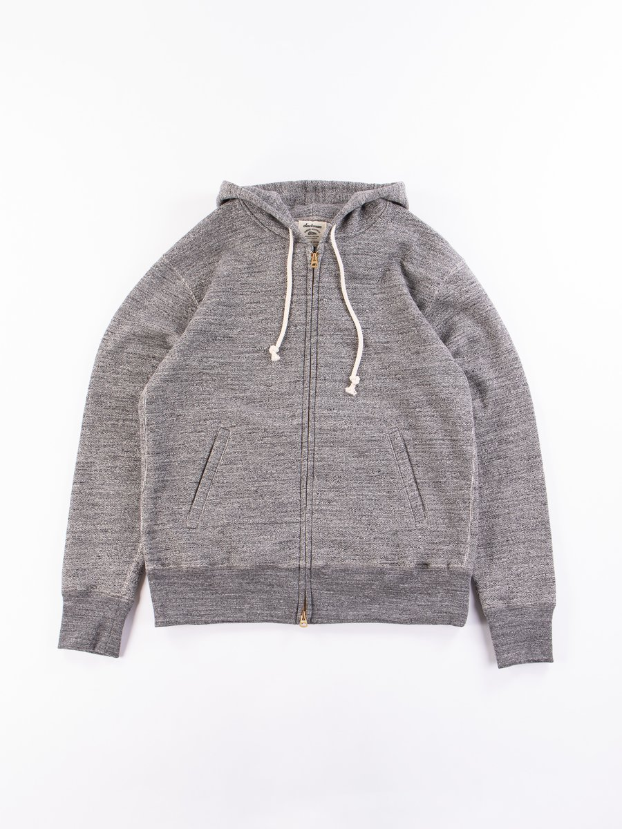 Charcoal GG Full Zip Sweatshirt