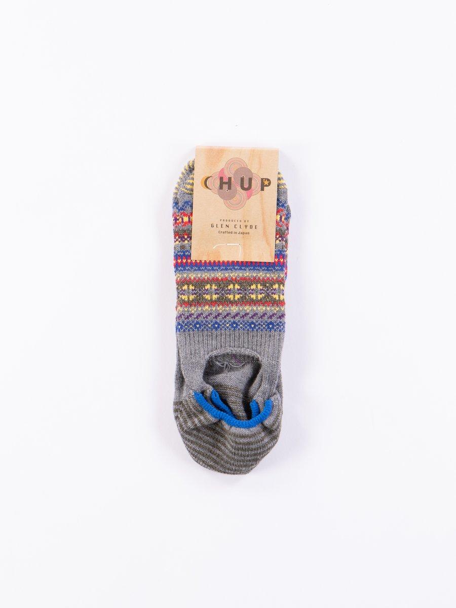 Grey Koli Trainer Socks