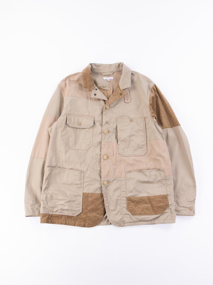 Khaki 6.5oz Flat Twill Logger Jacket