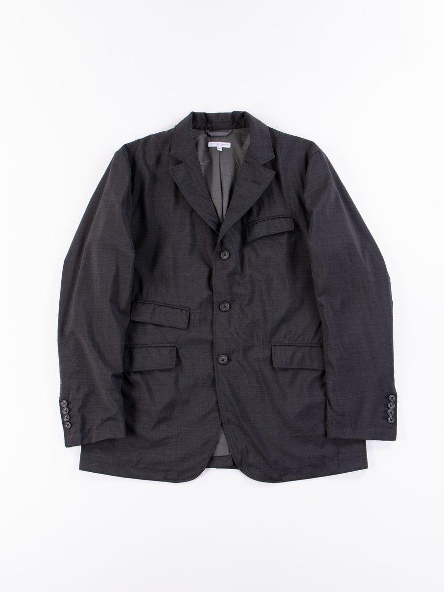 Grey Tropical Wool Andover Jacket