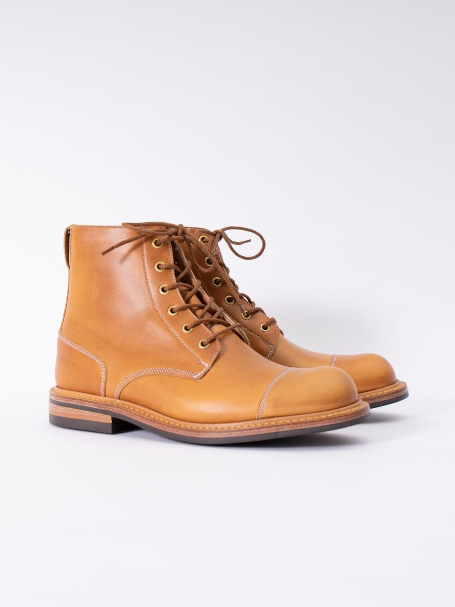 HORWEEN CAVALIER ENGLISH TAN TBB COMBAT BOOT