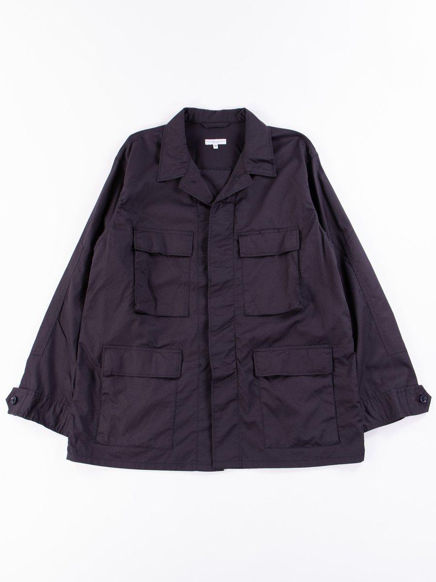 Dark Navy Highcount Twill BDU Jacket