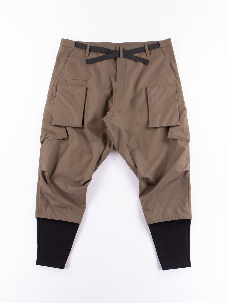 P23A–S RAF Green HD Cotton Cargo Drawcord Trouser