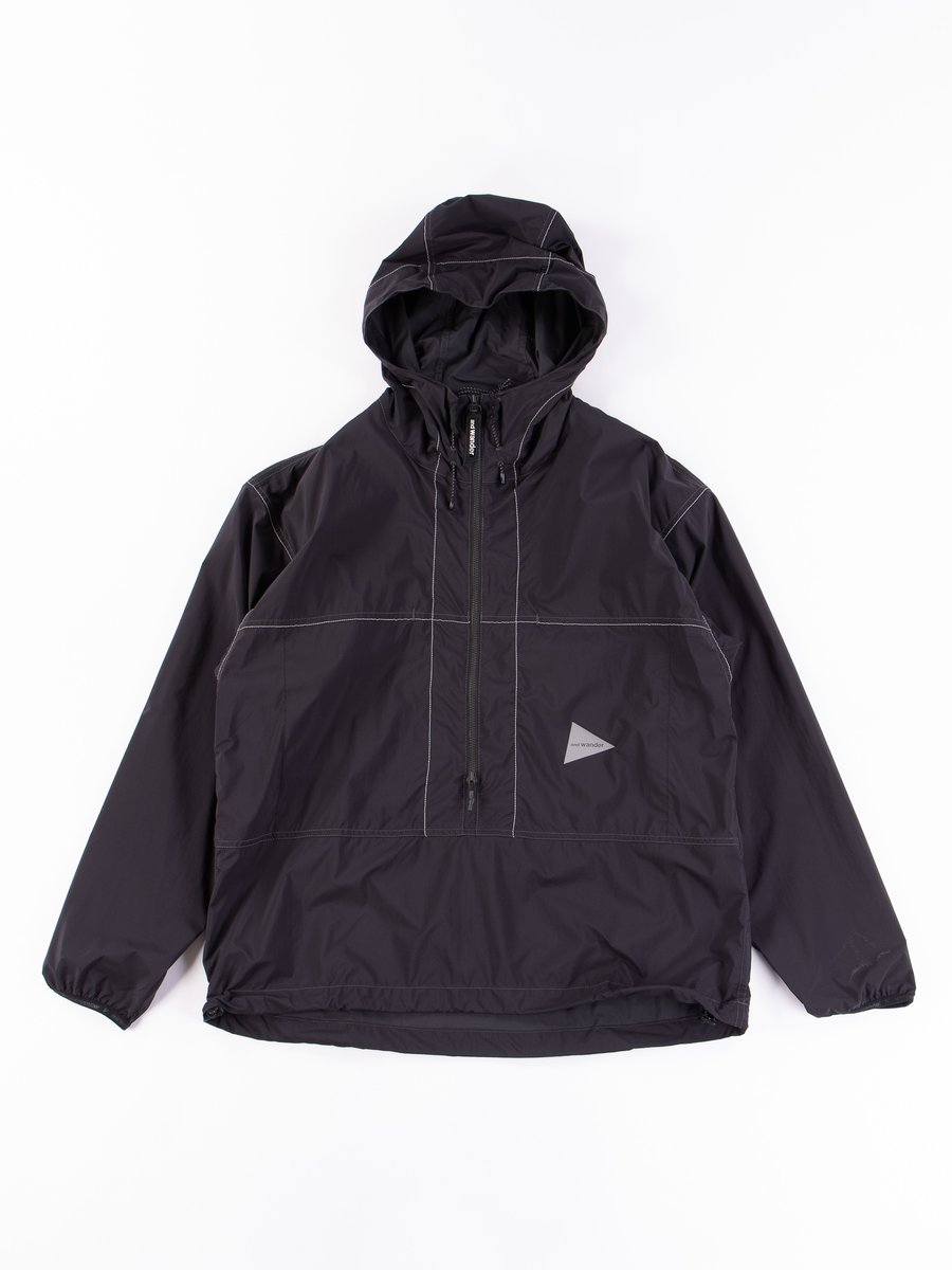 Black Pertex Wind Pullover