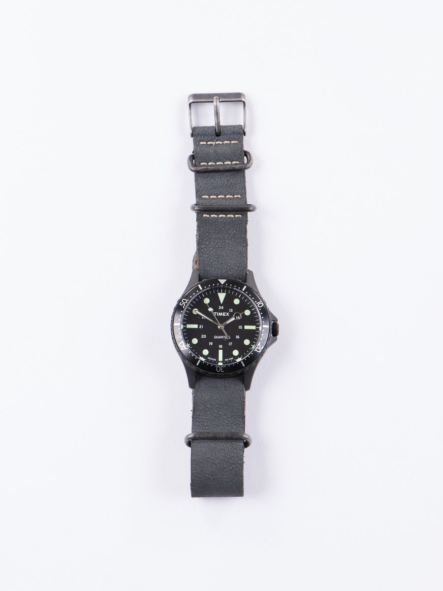 Black/Black w/ Black Strap Navi Harbor Watch