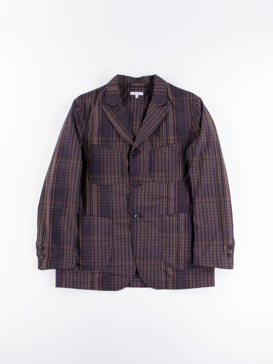 Multi Color Nyco Plaid NB Jacket