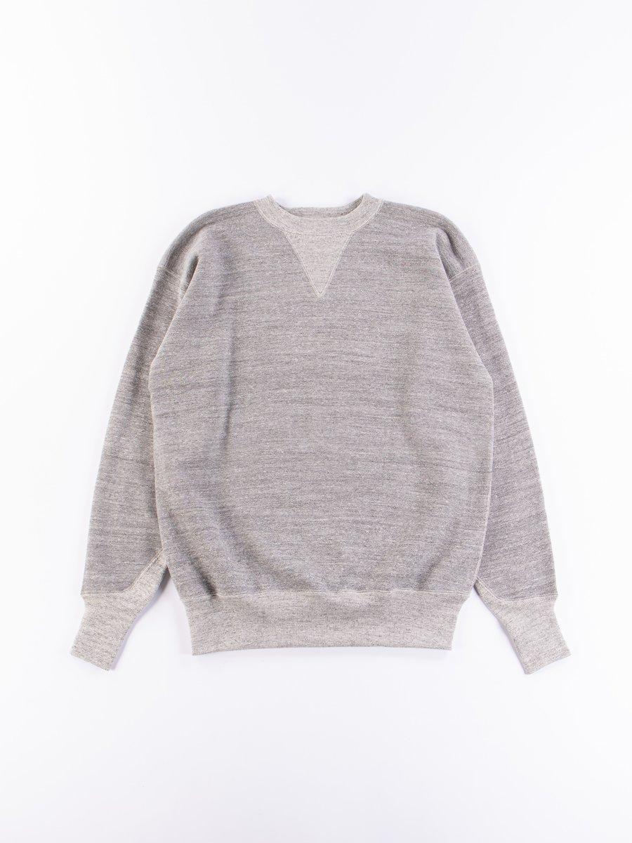 Heather Grey 467 Two Needle Sweatshirt