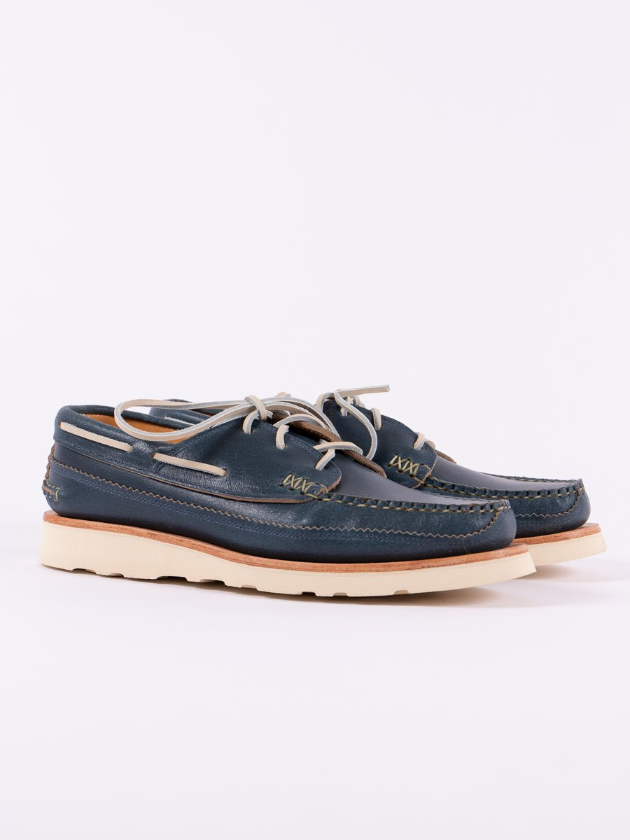 Wax Blue Boat Shoe Exclusive