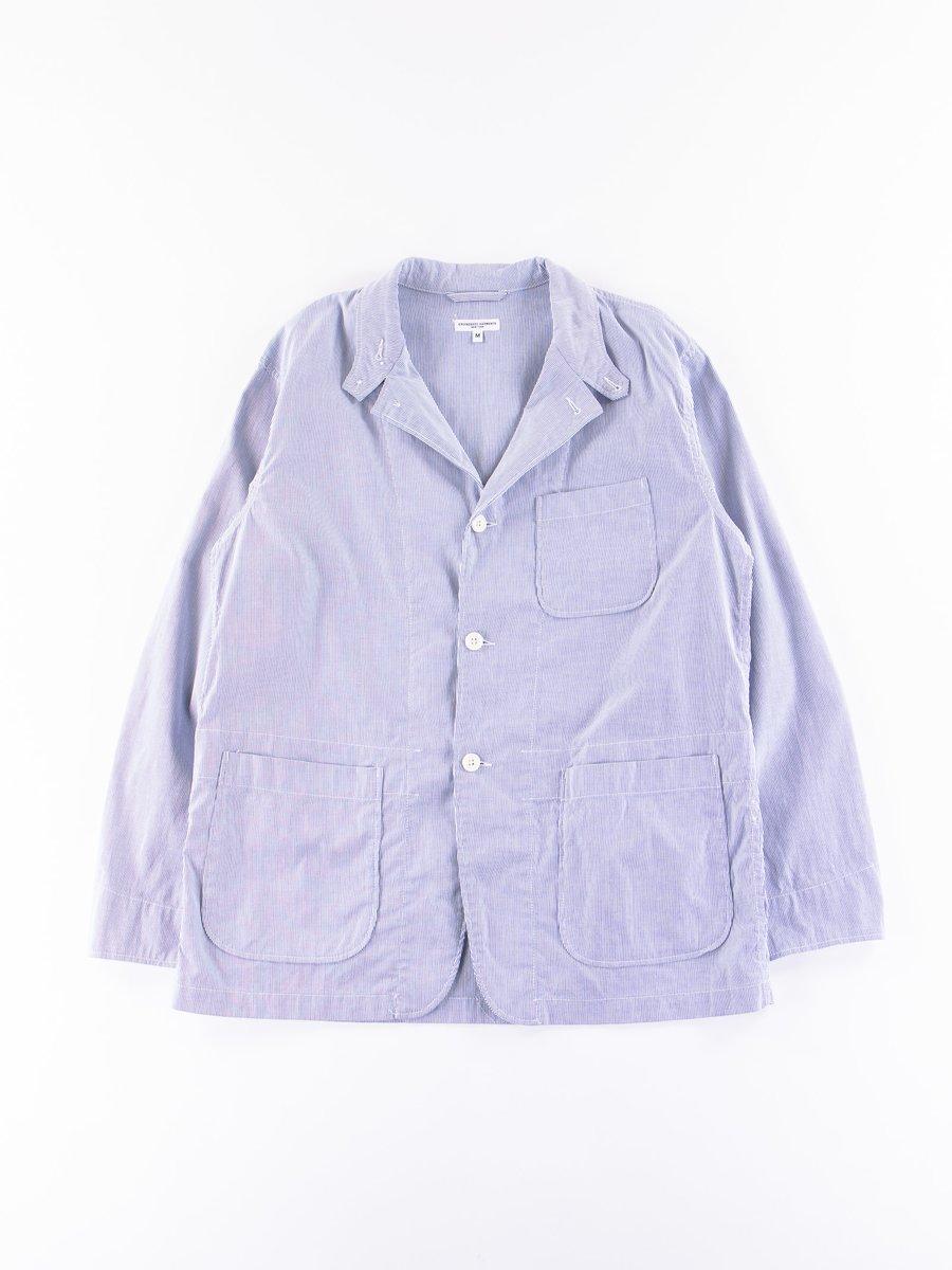 Light Blue Cotton Cordlane Loiter Jacket