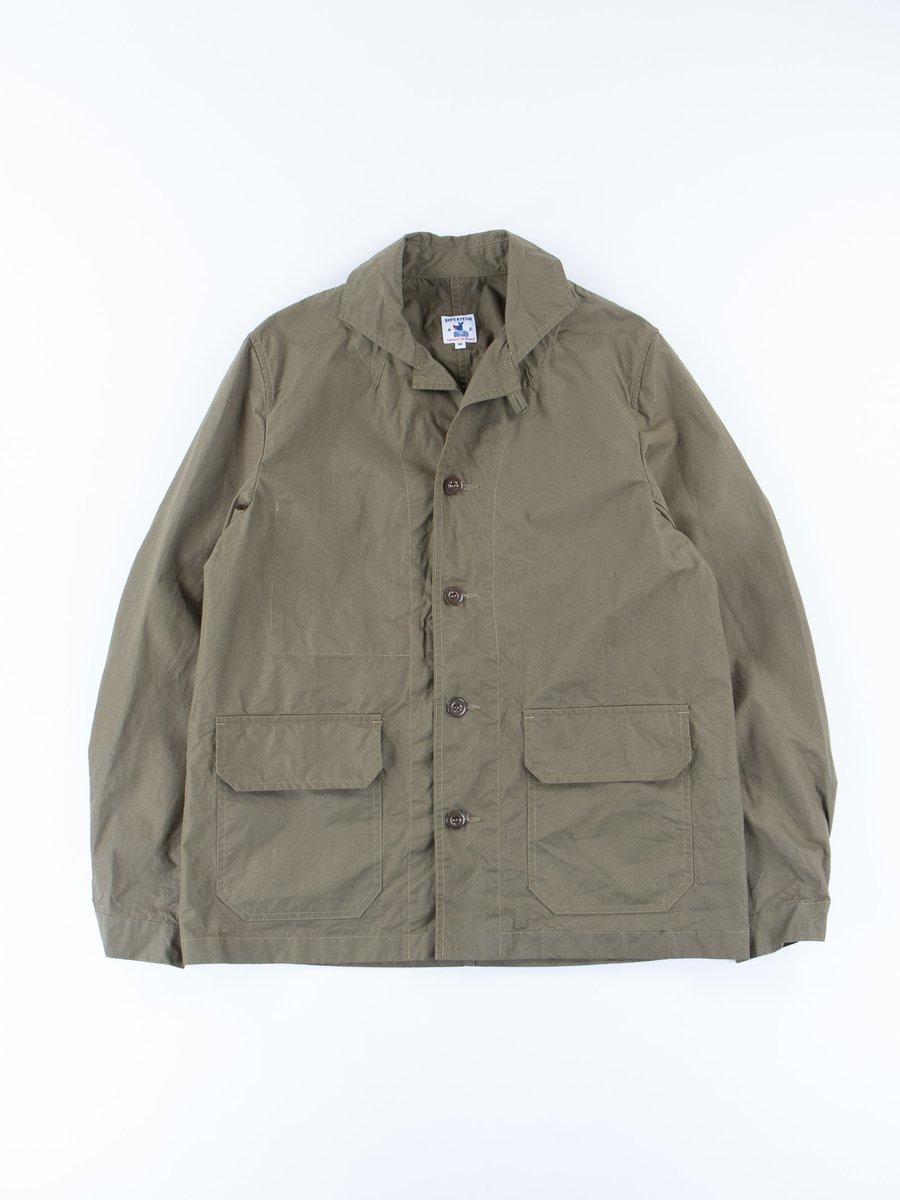 Olive Pima Gabardine Mayenne Jacket