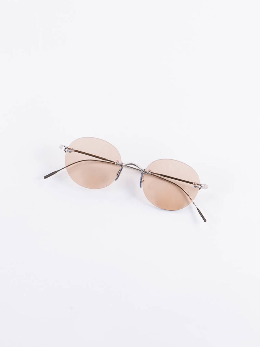 Brushed Silver Keil Sunglasses