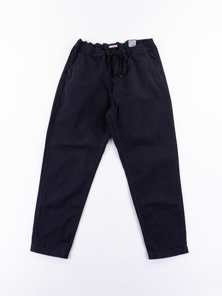 Navy Canvas TBB Mill Pant