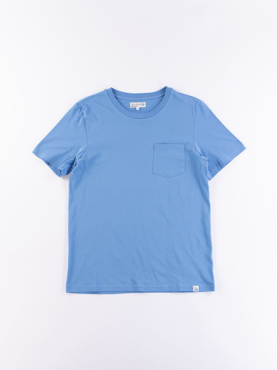 Sky Good Basics CTP01 Pocket Crew Neck Tee