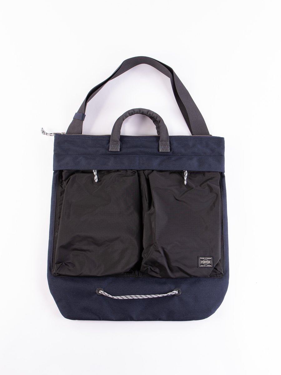 Navy/Black Hype 2Way Helmet Bag