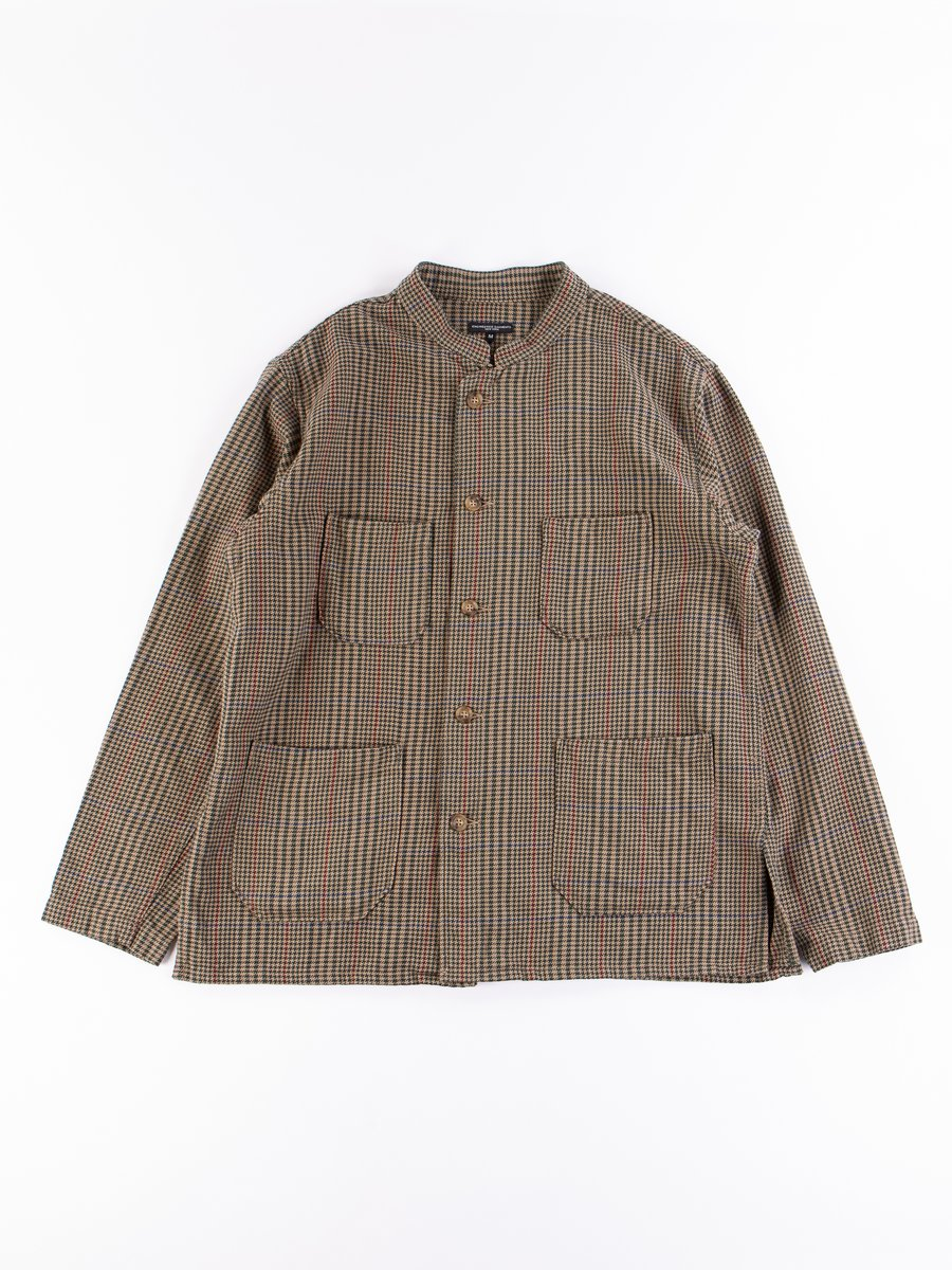 Brown Gunclub Check Twill Dayton Shirt