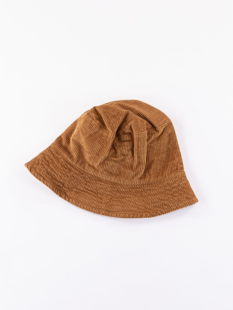 Chestnut 8W Corduroy Bucket Hat