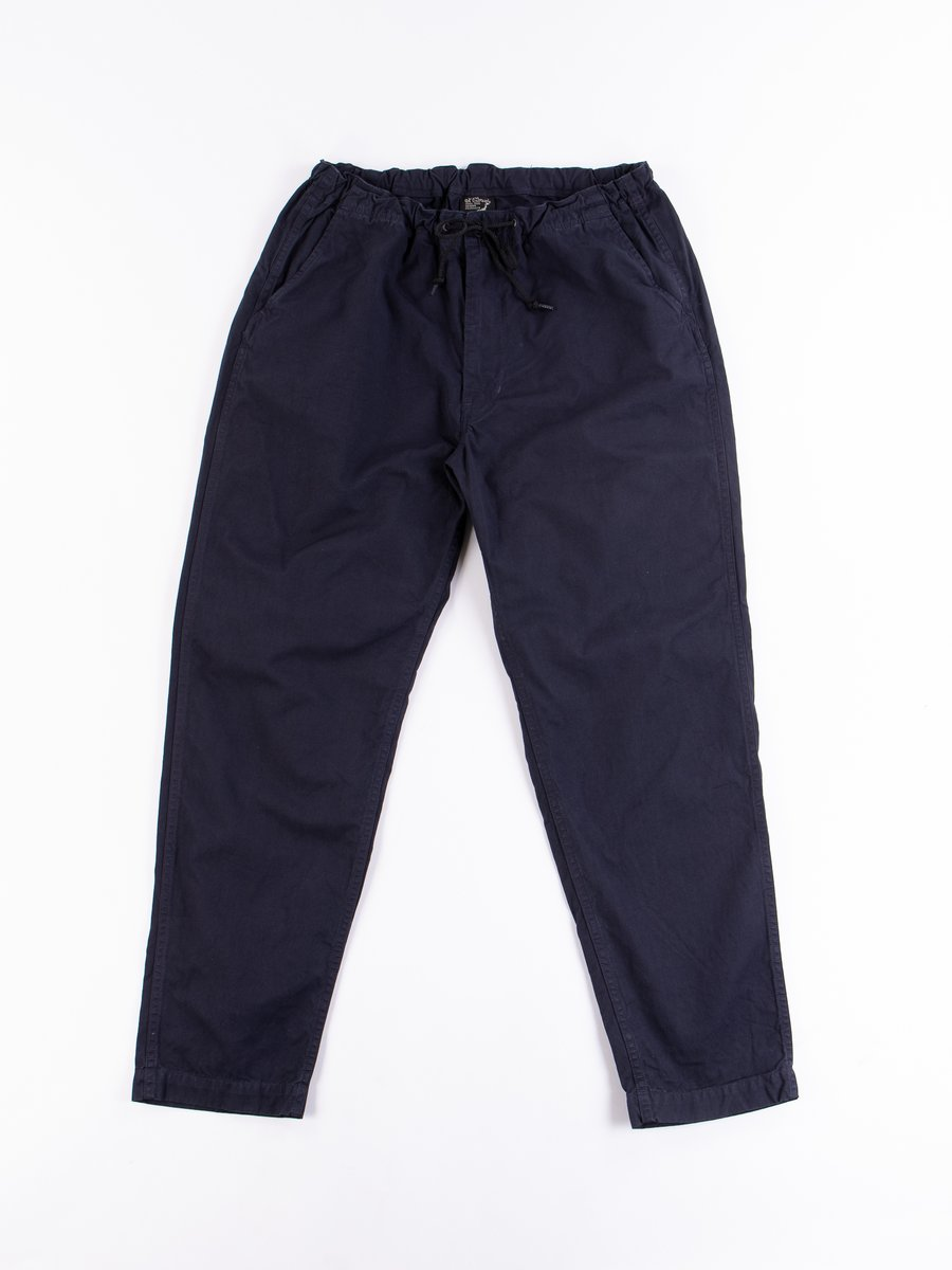 Navy Overdyed Poplin TBB Mill Pant