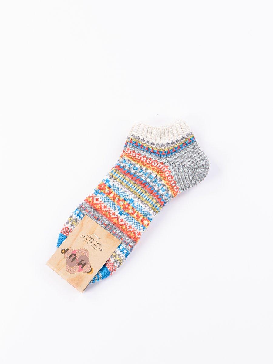 Oatmeal Pask Ankle Socks