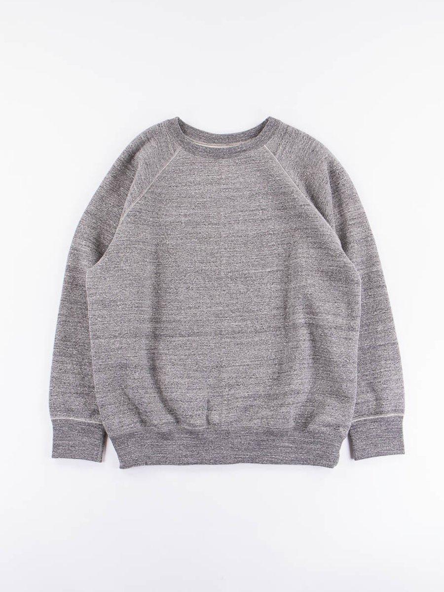 Charcoal Loop Wheel Crewneck Sweatshirt