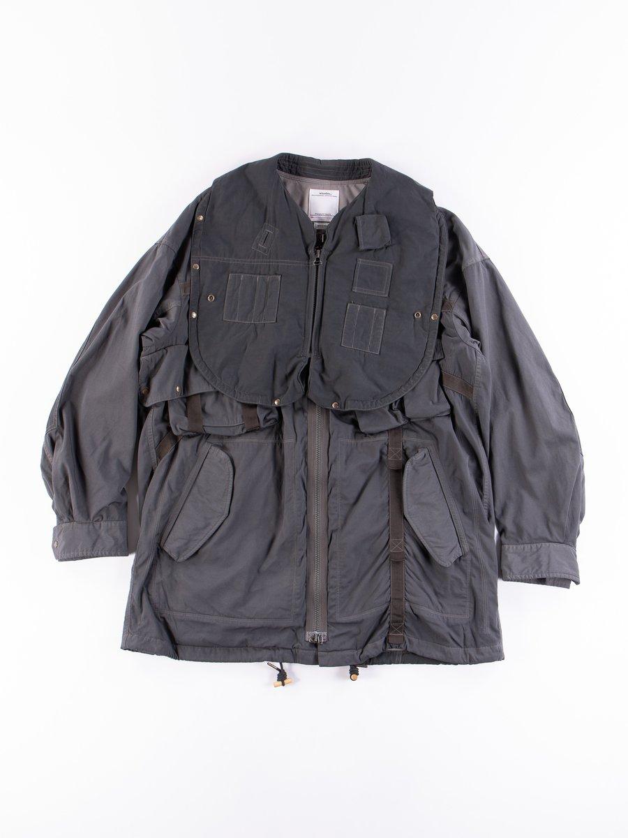 Grey Ny/C Paratrooper Coat