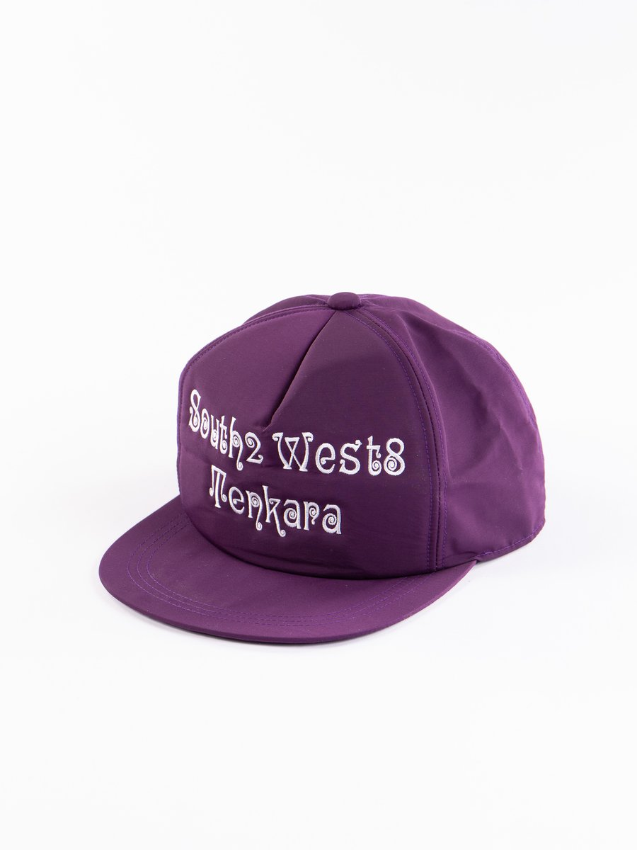 Purple Tenkara Embroidered Trucker Cap