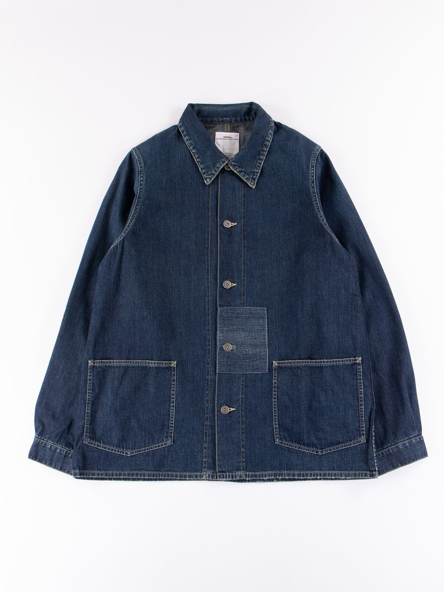 Damaged Indigo SS Section Gang Coverall