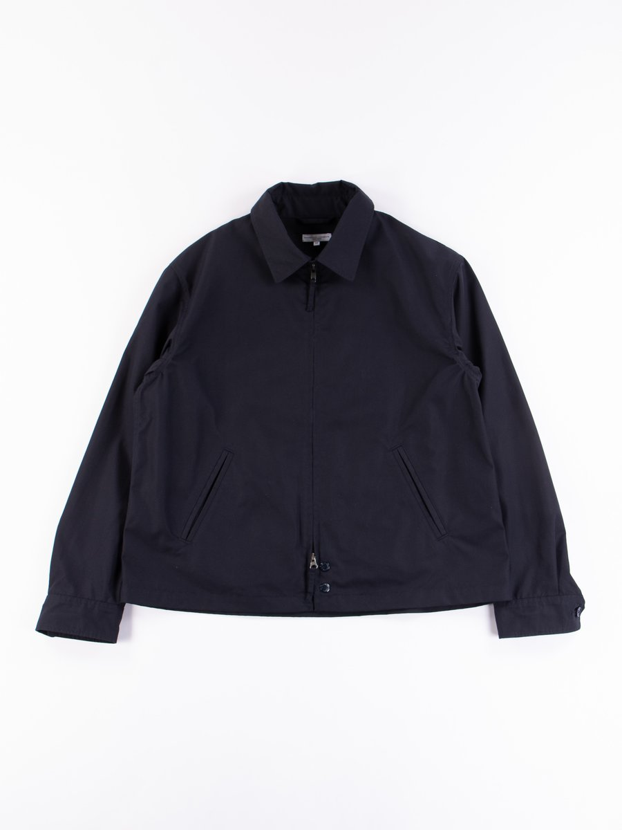 Dark Navy PC Poplin Claigton Jacket