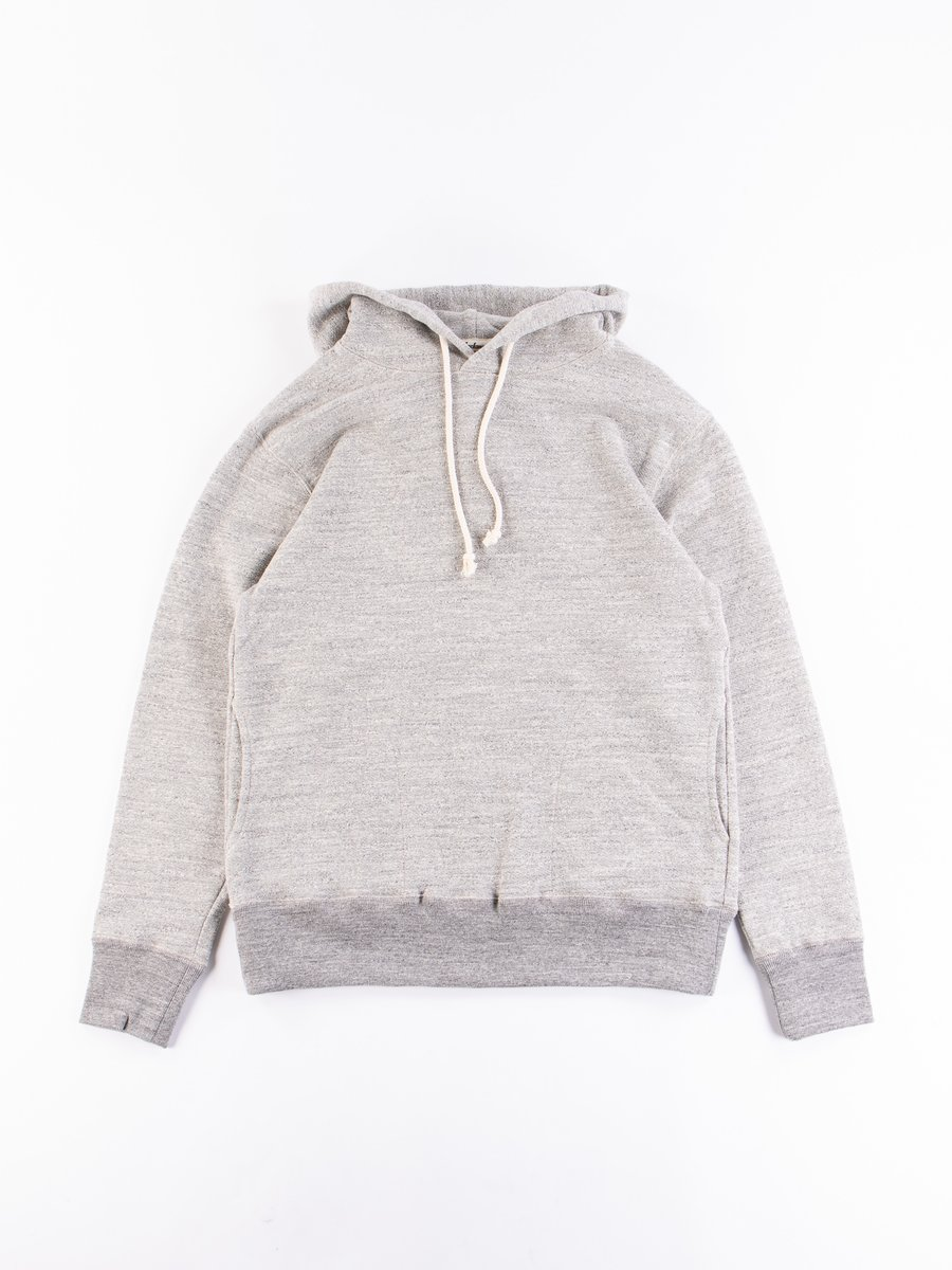 Heather Grey GG Sweat Pullover Parka