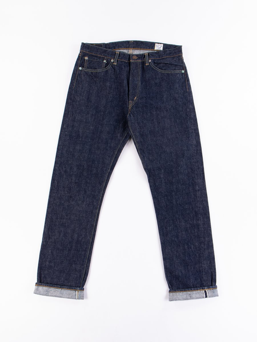 Indigo One Wash 107 Slim Fit Jean