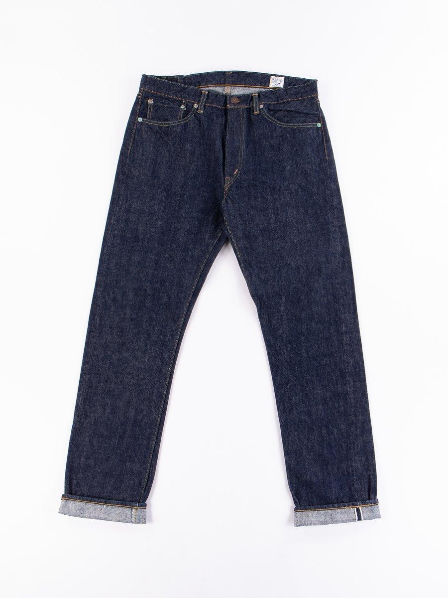 Indigo One Wash 107 Slim Fit Jean