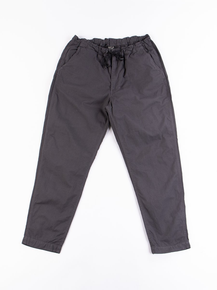 Charcoal Grey Overdyed Poplin TBB Mill Pant