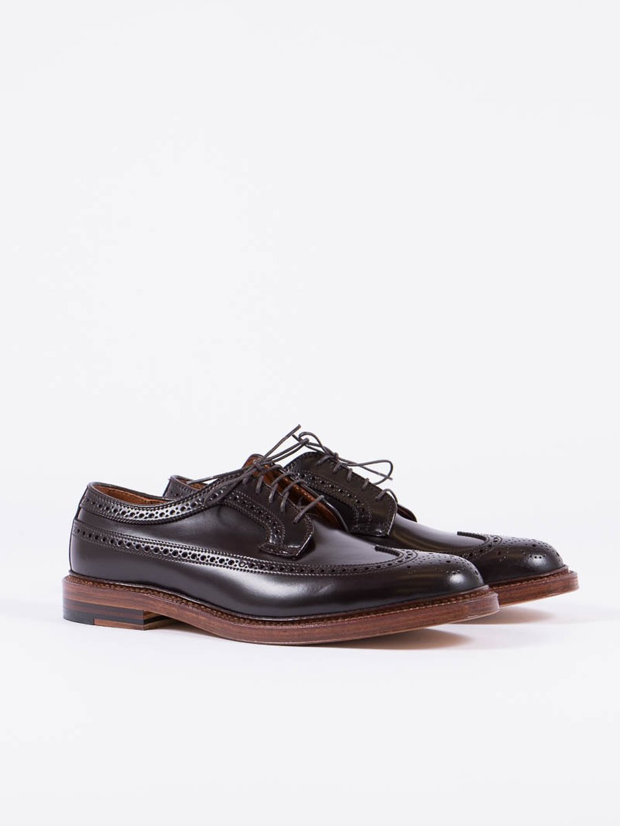 Color 8 Cordovan Long Wing Blucher