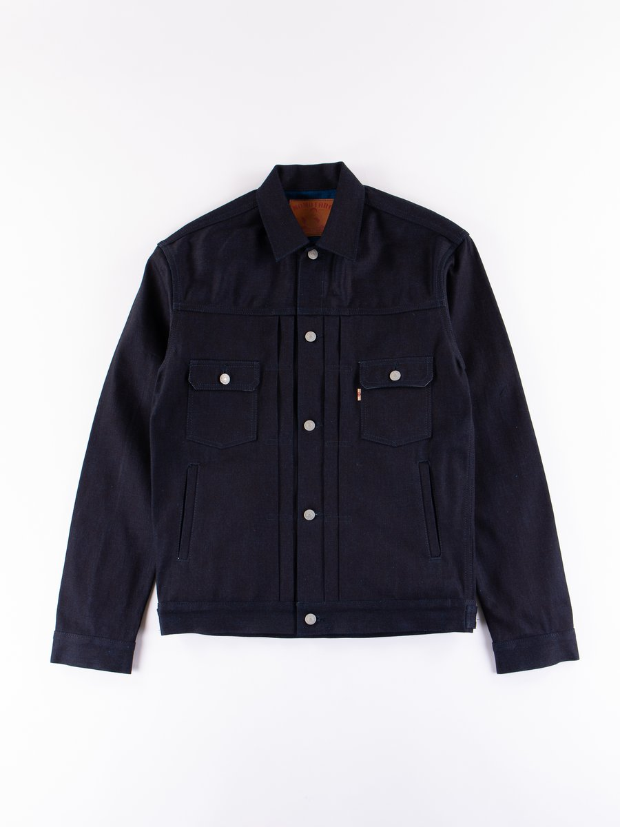 Indigo 13oz Zimbabwe Cotton Denim Jacket