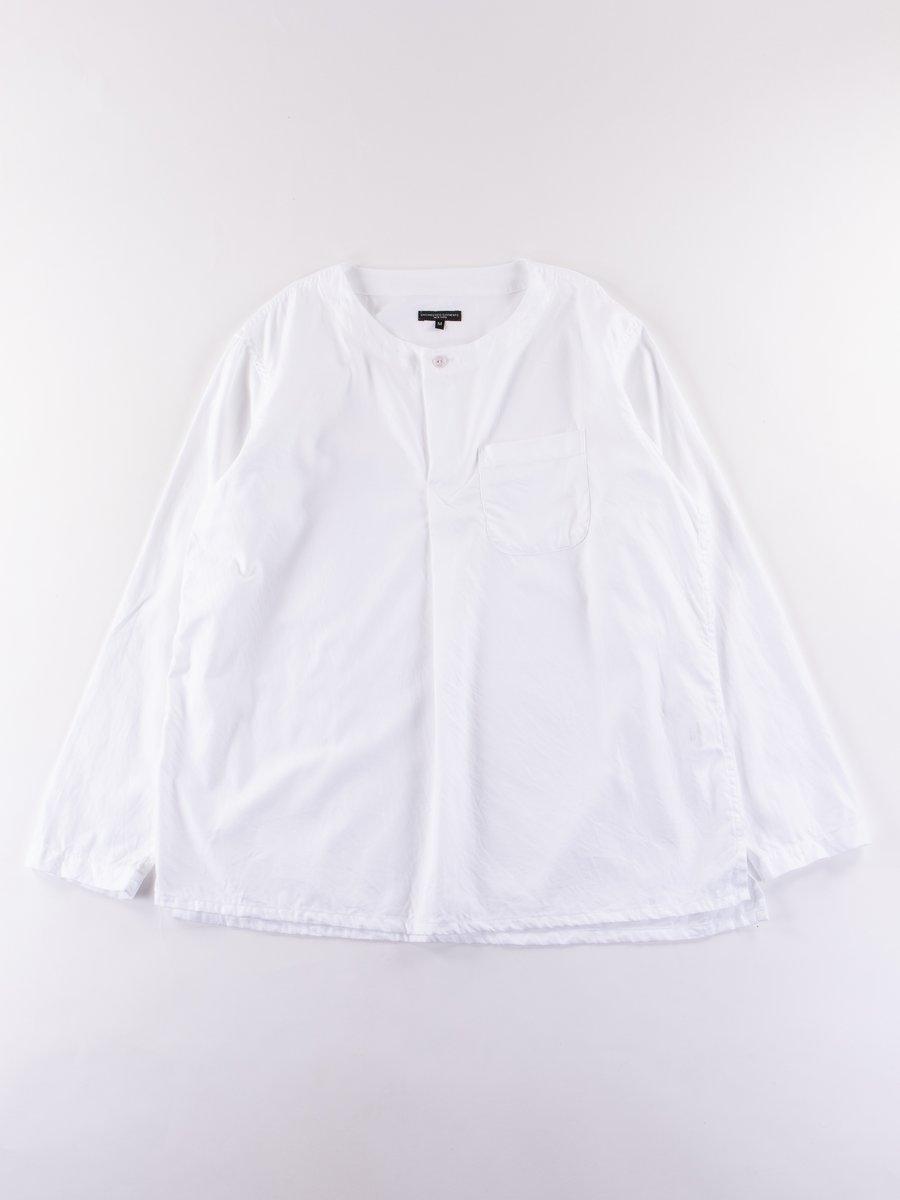 White Cotton Dress Twill MED Shirt