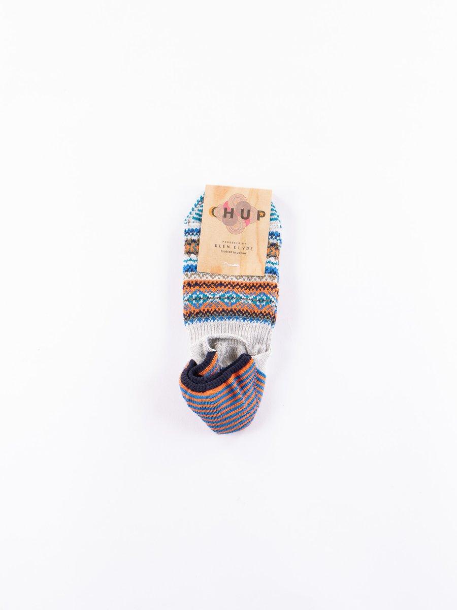 Grey Tay Trainer Socks